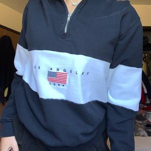 Los Angeles Half Zip
